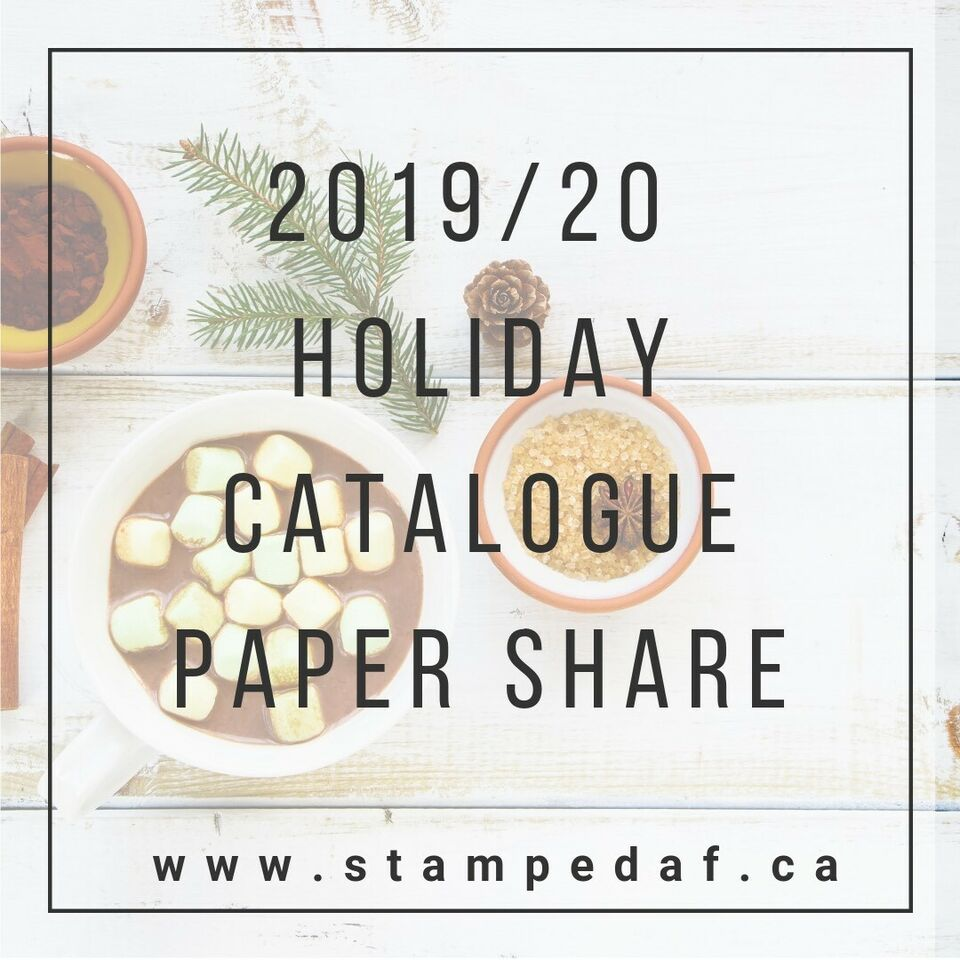 Stampin' Up! Holiday Catalogue Paper Share