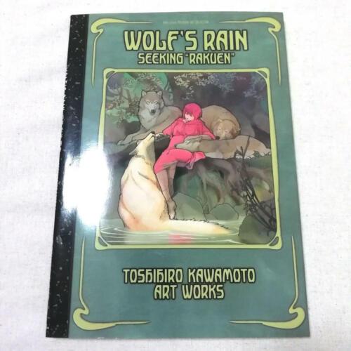 Used TOSHIHIRO KAWAMOTO ART BOOK WOLF