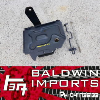 HOLDEN COMMODORE VT VU VX BATTERY TRAY AND HOLD DOWN BAR Sandgate Newcastle Area Preview