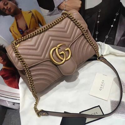 **Gucci Marmont Bag Medium/ Beige