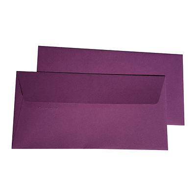 10 DIN Lang Briefumschläge Cassis farbige Umschläge Clairefontaine Johannisbeere