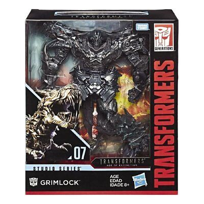 Transformers Studio Series 07 Leader Class Movie 4 Grimlock Figure ()