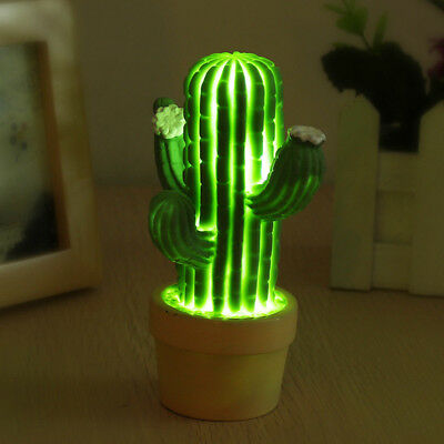 Cactus Led Night Light Children Led Lamp For Living Room Make clear Decoration