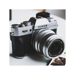 Fujifilm XT20 with or without lens