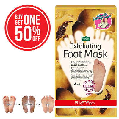 Buy Masks ([BUY 1 GET 1 50% OFF]PUREDERM Exfoliating Foot Mask Regular 1 pair Ship from)