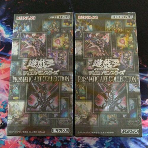 2BOX SET/ Yu-Gi-Oh OCG PRISMATIC ART COLLECTION BOX KONAMI JAPAN