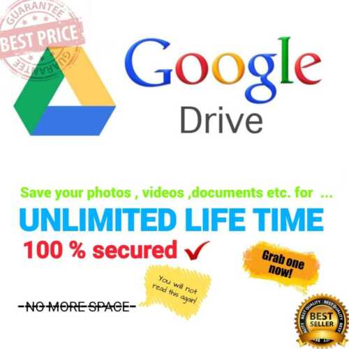 Free Unlimited Google Team  Drive For Your Existing Account