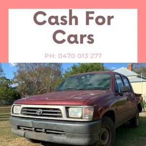 Wanted: Cash for cars 🚗 vans, utes, trucks, suvs 🚗