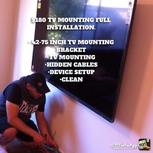 $180 TV MOUNTING INSTALLATION!!! Craigieburn Hume Area Preview