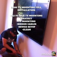 $180 TV MOUNTING INSTALLATION!!! Craigieburn Hume Area Preview