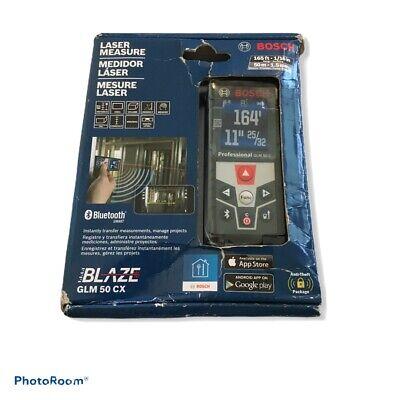 Bosch 165 Ft. Laser Distance Measure Blaze Glm 50 Cx
