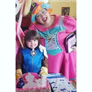 FÊTES D'ENFANTS CHEZ VOUS! En princesse, héro ou clown!