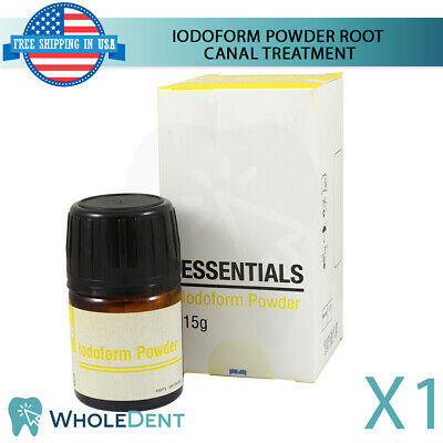 Iodoform Powder Anesthetic Dental 15ml Root Canal Disinfection Treatment