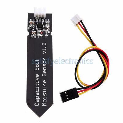1pcs Analog Capacitive Soil Moisture Sensor V1.2 Corrosion Resistant With Cable