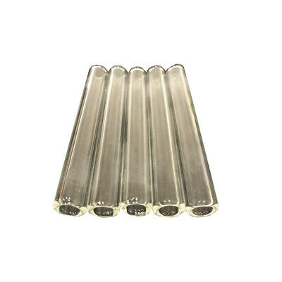 4 Inch Long 5 Piece 12mm Od 8mm Id Pyrex Glass Blowing Tubes 2mm Thick Tubing