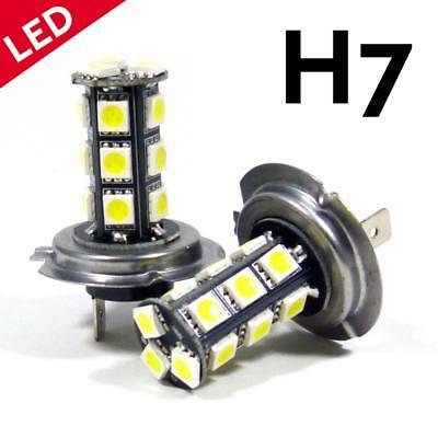 LED H7 Car White 6000K HID Conversion Headlight Bulb Light Kit High Beam