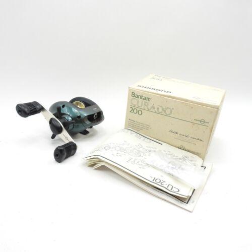 Shimano Curado CU-200 Fishing Reel. Made in Japan. W/ Box.