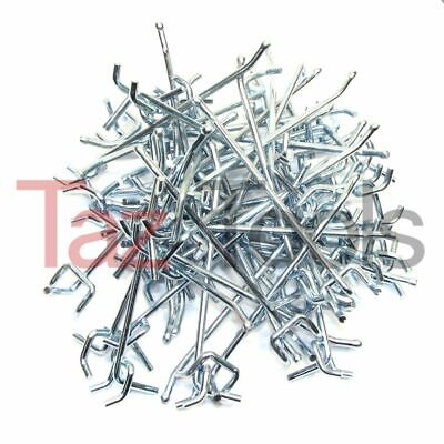 50 Pc 6 X 14 Peg Board Hooks Shelf Hanger Kit Garage Storage Hanging Pegboard