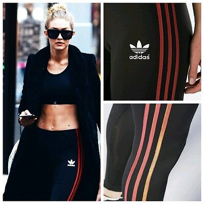 Small  Adidas Womens  Space Shift   Leggings  By Rita Ora  Uk8   Us 4  Last 1