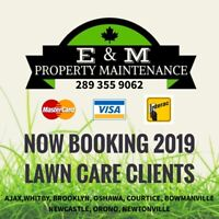EARLY BIRD SPECIAL, Booking Lawn Care Clients