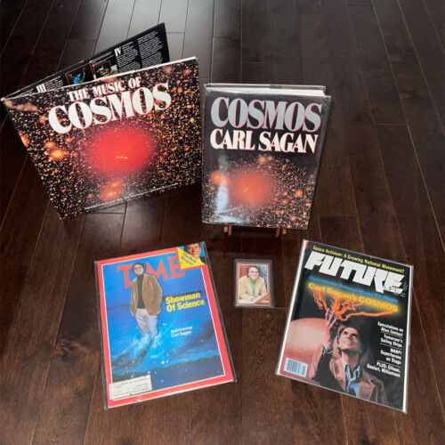 Carl Sagan COSMOS First Edition Signed Book Collector