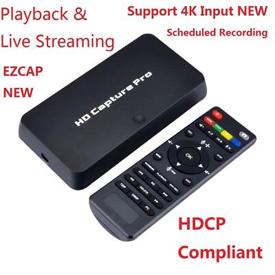 (HDMI/Ypbpr HD Video Capture Card Support 4K HD Input Playback Live StreamingHDCP)