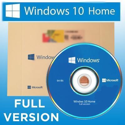 Microsoft Windows 10 Home Full Version Dvd Win 10 64 Bit 64Bit Oem English