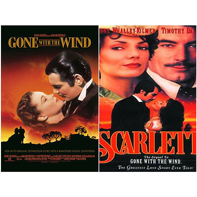 Gone with the Wind (1939) + SCARLETT (1994) 2-Disc / New Sealed 2-DVD SET