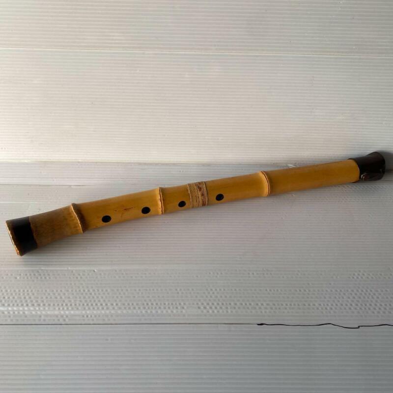 Shakuhachi Japanese Bamboo Flute Traditional Instrument Tanisan se27