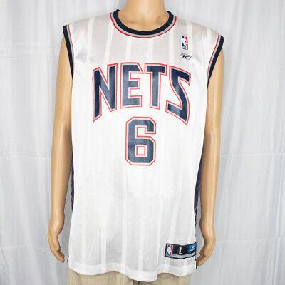 Reebok Team Apparel NJ Nets Jersey Kenyon Martin Men's Size Large NBA