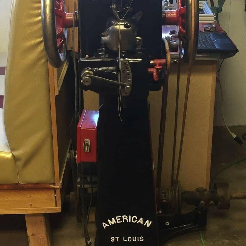 American Straight Needle Machine, leather working, shoe repair boot making