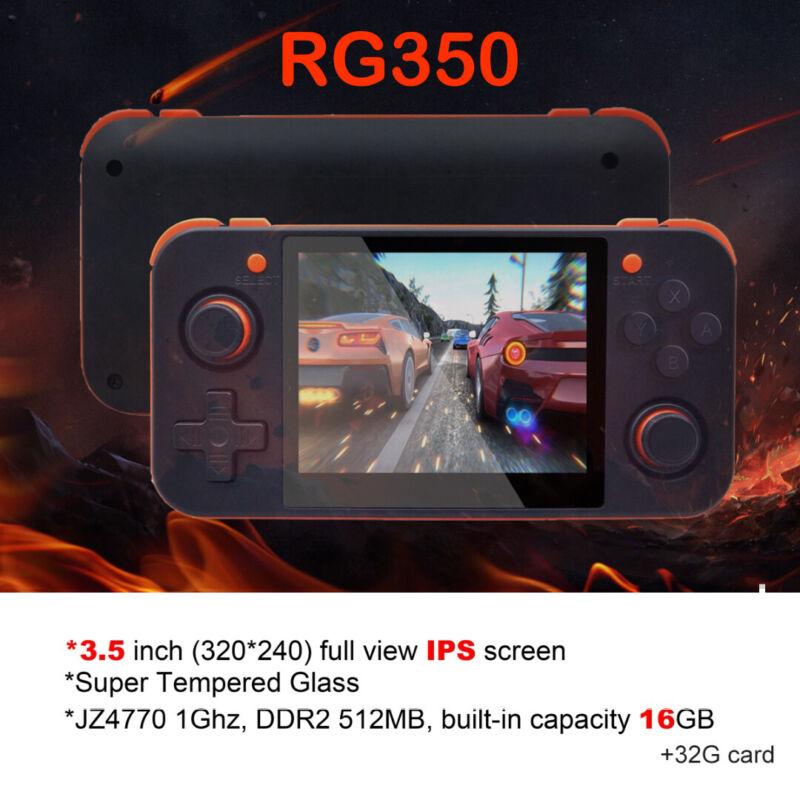 RG350 3000 Spiele 32G Retro Handheld Tragbare Spiel 16GB Konsole Player TF Karte