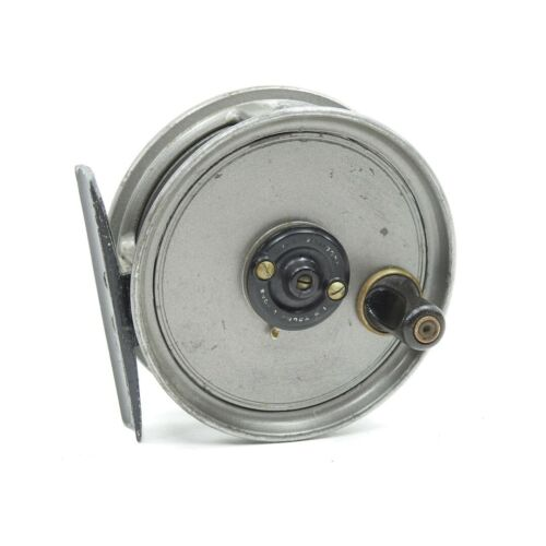 """J.W. Young Pridex Fly Fishing Reel. 3"""". Made in England."""