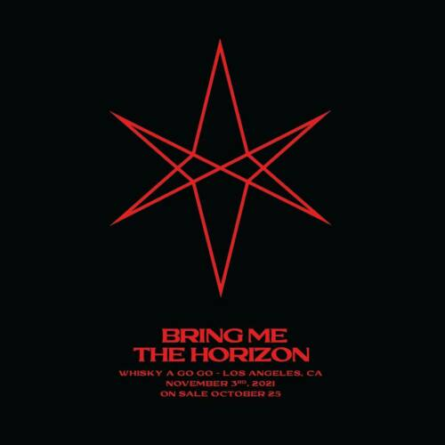 1-2 BRING ME THE HORIZON TICKETS @ THE WHISKY A GO GO