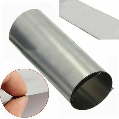 Titanium Ti Thin Plate Sheet Foil Tc4 0.1mmx100mmx1000mm Metalworking Supplies