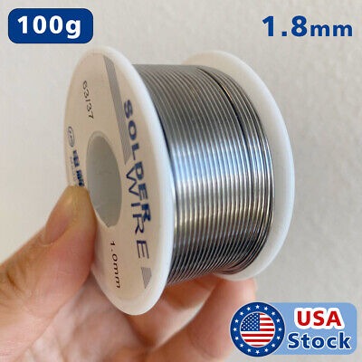 6337 1.8mm Tin Lead Rosin Core Flux Solder Wire For Electrical Solderding 100g