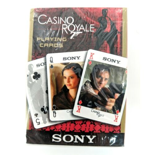 James Bond 007 Casino Royale Playing Cards Sony Promotional New