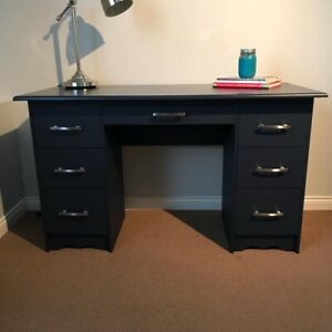 Solid Wood Hand Painted Desk
