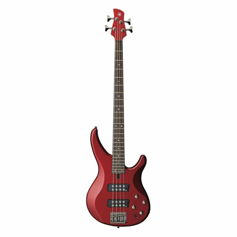 Yamaha TRBX304 4-String Electric Bass Guitar - Candy Apple Red