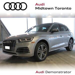2018 Audi Q5 2.0T Progressiv quattro w/ LEDs|Sport Seats|Navi