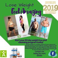 Lose weight and feel amazing with ISAGENIX!