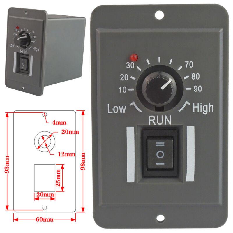Motor Speed Controller DC 12V 24V 36V 48V PWM Reversible Switch 6A Regulator BE