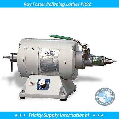 Ray Foster Variable Speed Lathe Pr92 With Chuck Mounted Dental Lab Quality New