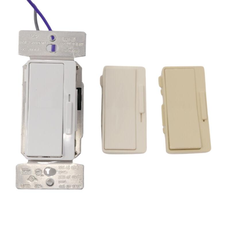 Eaton Controls DF10P-C1 Decorator 0-10V Dimmer 120/277V, - Almond, White, Ivory