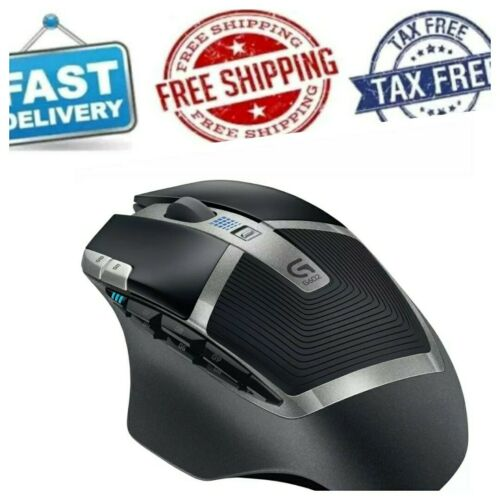 Logitech G602 Lag-Free Wireless Gaming Mouse – 11 Programm