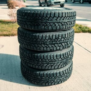 Winter Tires on rims: Hankook iPike w/90% tread life