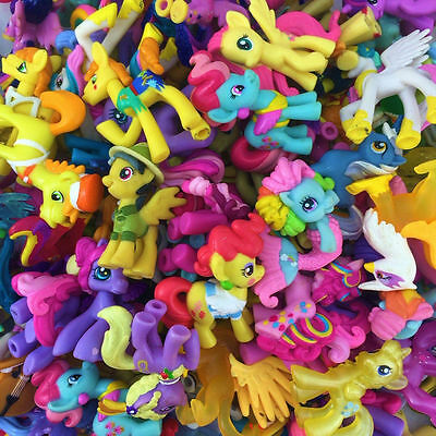 20Pcs MLP toys set My Little Pony Figure lot Friendship is Magic girl - My Little Pony Girls