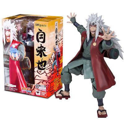 Naruto Collectibles (S.H Figuarts Jiraiya Naruto Action Figure Bandai Tamashii NEW IN STOCK US)