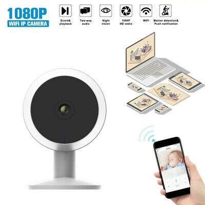 Security WiFi IP Camera Full HD 1080P 2-Way Audio Indoor Home Night Vision Alexa