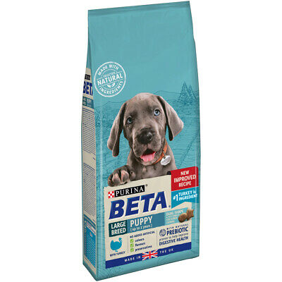 PTD Beta Puppy Large Breed Dry Dog Food With Turkey 2kg